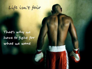 Motivational pic of the week #38: Life isn't Fair