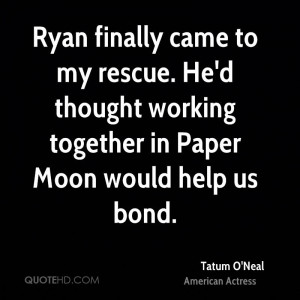 Ryan finally came to my rescue. He'd thought working together in Paper ...