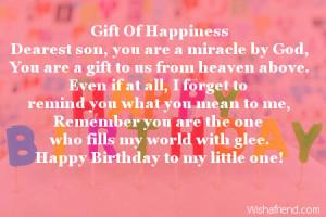 happy birthday my dear son happy birthday