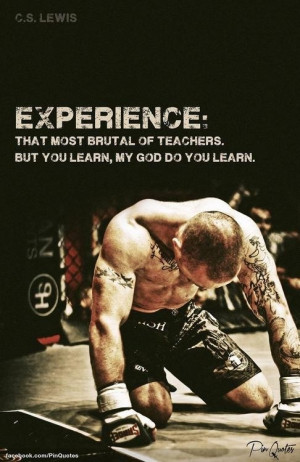 Learn from your experiences