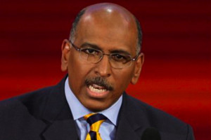 Michael Steele speaks at the Republican National Convention in St ...