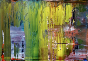 Gerhard Richter, Abstraktes Bild (Abstract Painting, 871-1) . Image ...