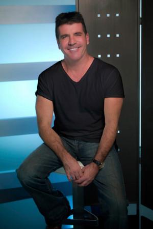 Simon Cowell American Idol Simon cowell on