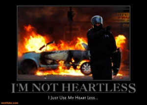 NOT HEARTLESS -