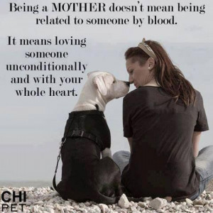 Being A MOTHER Doesn't Mean Being Related To Someone By Blood. It ...
