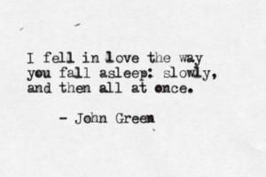Fall In Love The Way You Fall