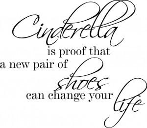 font-b-Cinderella-b-font-is-proof-Life-Cute-Decor-vinyl-wall-decal ...