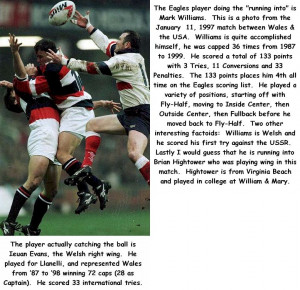 Rugby Multimedia and Photos from 'Round the World