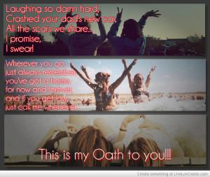 Cher Lloyd Oath Quotes
