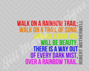 Rainbow Quote About Happiness: Rainbow Quote With Colourful Fonts Like ...