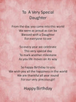 birthday daughter quotes