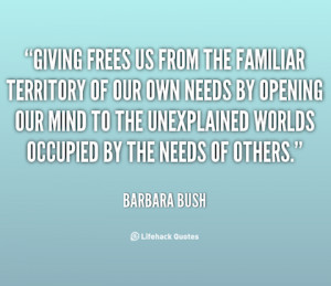 giving frees us giving back picture quote