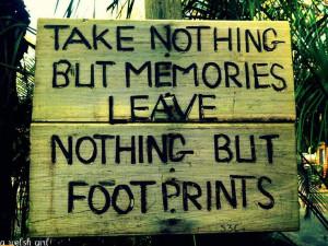 Memories and Footprints..