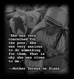 must say that Mother Teresa was a blessing for the world, she lived ...