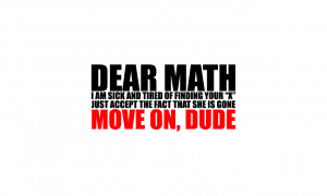 Hate Math Quotes Funny