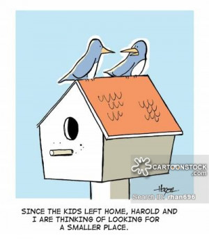 Empty Nest Quotes Empty Nest Syndrome Cartoons
