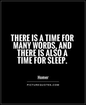 Sleep Time Quotes