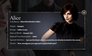 Twilight Series NEW EDWARD & ALICE QUOTE.