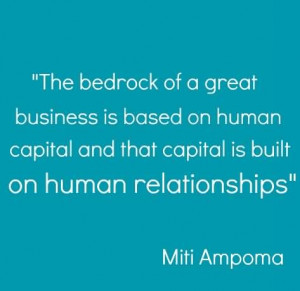 the importance of a business relationship