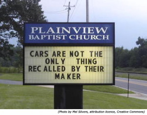 Please share your own funny religious jokes here..