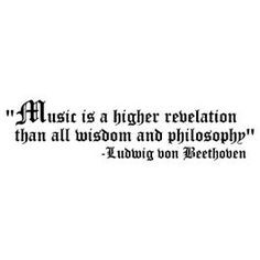... von beethoven quote wall words vinyl more beethoven music quotes