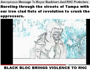 VIDEO: Anonymous Warning To Mayor Buckhorn And RNC Protesters Black ...
