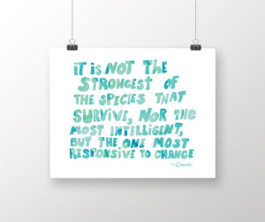 Quote Print, inspirational print quote, quote art, hand lettered print ...