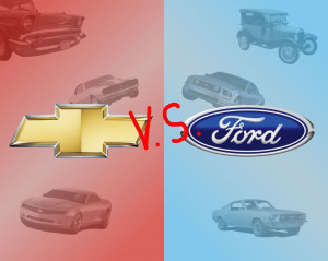 Chevrolet vs Ford by mincus38