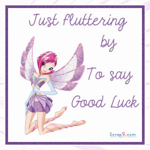 Good Luck quote #2