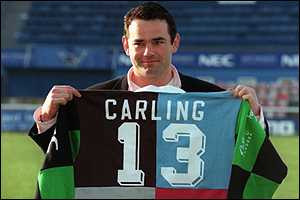 Will Carling - will he be thrown in at the deep end?