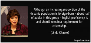 More Linda Chavez Quotes