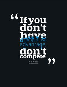 Jack Welch Quote Poster: If you don't [...]