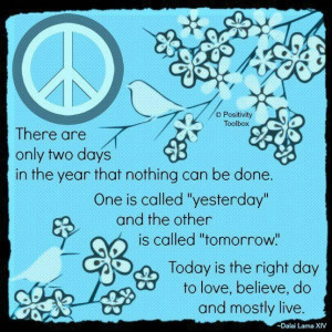 Today is the right day...♥☮