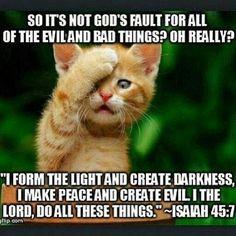 bible #isiah #atheist #atheism More