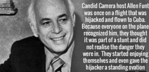 never heard this story about Allen Funt, the creator of ...