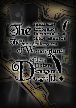 Alice Madness Returns Quotes Tumblr 1st quote : mad hatter by ~