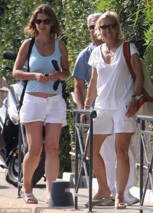 Martina Navratilova and new girlfriend