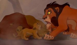 Run away Simba... Run away, and never return.