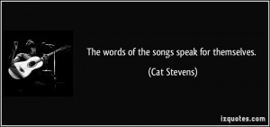 More Cat Stevens Quotes
