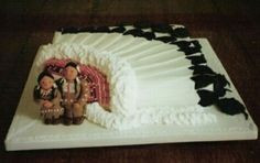 Native American wedding cake More