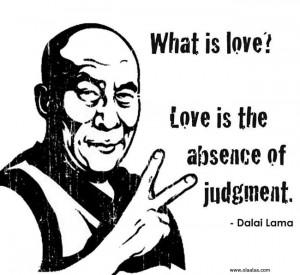 Nice Love Thoughts by Dalai Lama