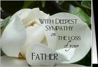 Sympathy Cards For Loss of Father