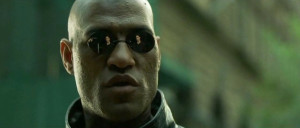 Laurence Fishburne as Morpheus in The Matrix (1999)