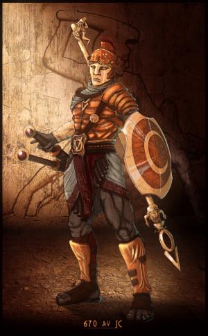 Greek Warrior Madasama
