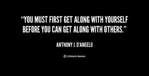 Quotes About Getting along with Others