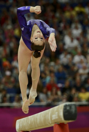 Jordyn Wieber, defending world champion, was knocked out of the ...