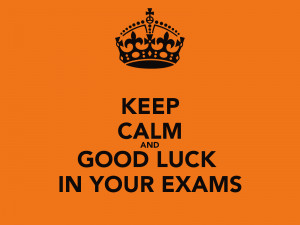 Good luck quotes for your exam