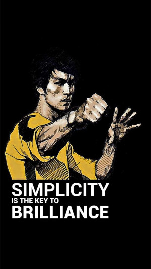 Bruce lee Quote #BeatsofHell #VictusVincimus
