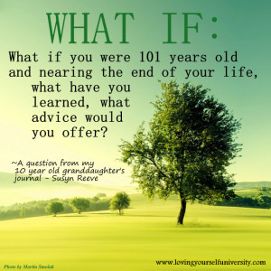 What if you were 101 years old