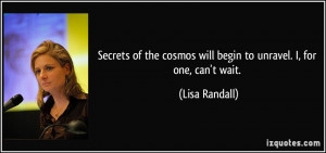 More Lisa Randall Quotes